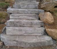 prefab exterior stairs outside with landing wooden steps lowes