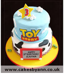 story birthday cake birthday cakes story two tier cakes by