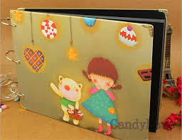 scrapbook albums diy handmade kids scrapbook albums child memory gifts photo baby