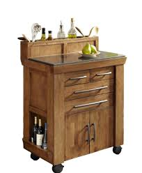 fine modern kitchen island cart granite top foter throughout