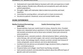 Medical Scribe Resume Sample by Entry Level Medical Scribe Resume Reentrycorps