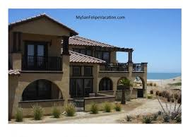 two bedroom homes luxury san felipe mansion on the sea san felipe vacation rental homes