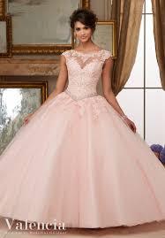 light pink quince dresses vestido de pinteres