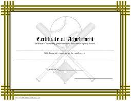 9 best images of baseball certificate templates baseball award