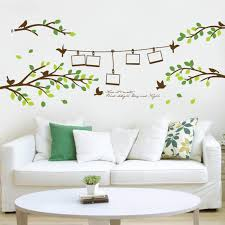 frame leaves the living room children u0027s room wall stickers