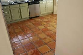 kitchen tile floor ideas attractive terracotta tile kitchen saltillo grousedays org
