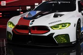 sports cars bmw bmw m8 gte at iaa 2017 all information and sound video