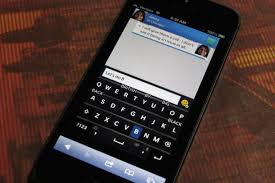 blackberry keyboard for android check out a blackberry 10 preview from your ios or