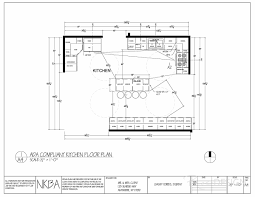 Kitchen Floor Plan by Ada Floor Plans