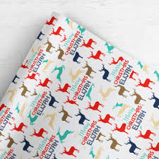 custom christmas wrapping paper personalised custom christmas wrapping paper gift wrap