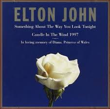 Diana Princess Of Wales Rose by Elton John Something About The Way You Look Tonight Candle In