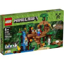 lego minecraft the jungle tree house 21125 walmart com
