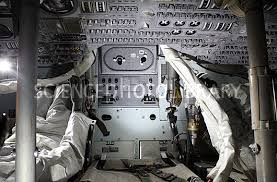 Lunar Module Interior Apollo 13 Command Module Interior Stock Image C013 0208