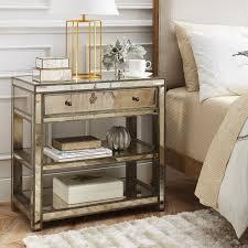 atlantis two tone nightstand agreeable brockhurststud com