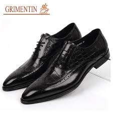 wedding shoes office wholesale size 38 45 luxury mens dress shoes genuine leather