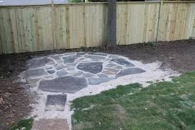 Backyard Stepping Stones by Notes From The Nelsens Back Yard Makeover Part 2 Sod Stepping
