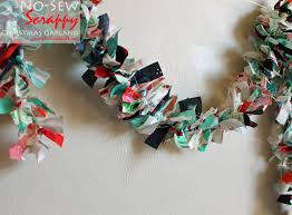 piece n quilt how to simple no sew christmas garland