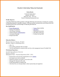 Resume Examples For College Students Internships 100 It Internship Resume Examples Of Resumes Livecareer Login