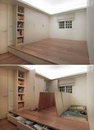 Floor Storage Cabinet 20 Small Space Storage Ideas Remodelingguy Net