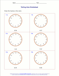 grade 3 maths worksheets printable telling time worksheets for 3rd grade