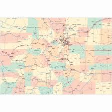 Map Of Counties In Colorado by Colorado Road Map Co Road Map Colorado Highway Map