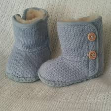 infant ugg boots sale ugg hold ugg infant purl knit boots baby blue from