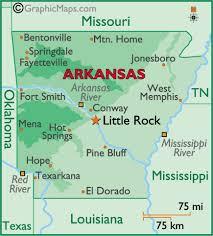 louisiana state map key arkansas states map