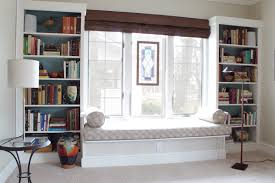 diy king size headboard bedroom simple bed book rack open glass window lighting exciting