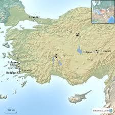 odyssey map odyssey turkey corinthian travel