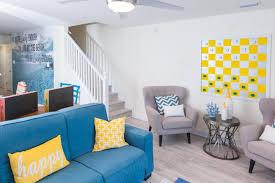 hgtv livingroom modern white beachfront living room with bright details