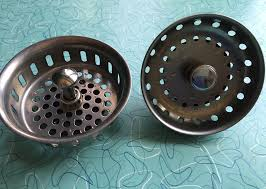 Vintage Kitchen Sink Basket Strainer Works MUCH Better On My - Kohler kitchen sink drain