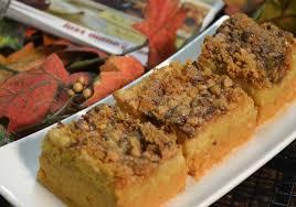 pumpkin pie crunch recipe thanksgiving dessert ideas rada