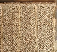 Heathered Chenille Jute Rug Natural Pottery Barn Natural Fiber Rugs Roselawnlutheran