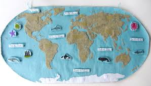 Southern Ocean Map Animals Of The Ocean For The Montessori Wall Map U0026 Quietbook With