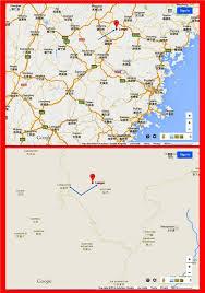 Fuzhou China Map by Shi Family 施 Chinese Genealogy