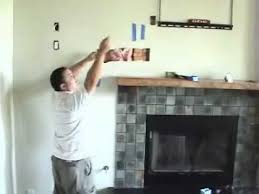Mounting A Tv Over A Gas Fireplace by Install Tv Above Fireplace Pt 7 Install Cables Youtube