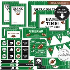football party decorations football birthday party collection football party decorations