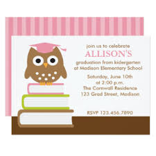 kindergarten graduation invitations pre kindergarten graduation invitations announcements zazzle