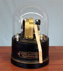 stock ticker replica stock ticker machine by clauss studios