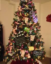 movie themed christmas tree christmas pinterest christmas