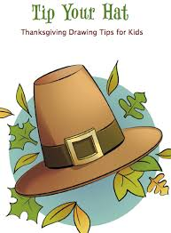 thanksgiving craft for draw a pilgrim hat craftfoxes