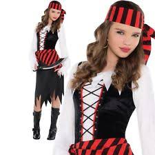 amscan polyester pirate fancy dresses for girls ebay