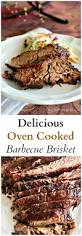 delicious oven cooked barbecue brisket recipe oven cooking