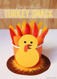 thanksgiving cups free printable turkey snack make treat cups for thanksgiving
