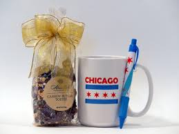 Gift Baskets Chicago Chicago Flag Mug And Toffee Gift Set Corporate Gifts