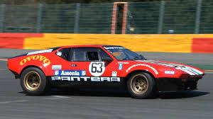 de tomaso 1972 de tomaso pantera gr4 ex works racecar incredible v8 sound