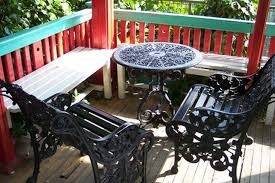 Recycled Patio Furniture How To Recycle Cast Aluminum Sapling Com