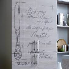 sticker meuble cuisine stickers deco cuisine recette soupe à l oignon
