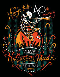 Halloween T Shirts by New York U0027s Village Halloween Parade 40th Anniversary T Shirt