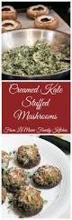 thanksgiving and christmas creamed kale stuffed mushrooms lemoine family kitchen